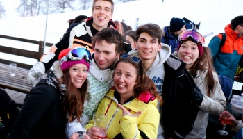 Apres-ski party Risoul