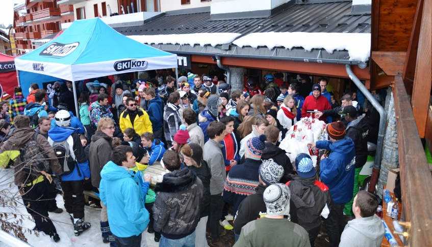 Apres-ski party St François Longchamp