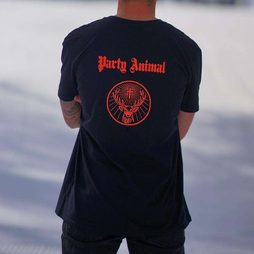 T-Shirt Party Animal Homme