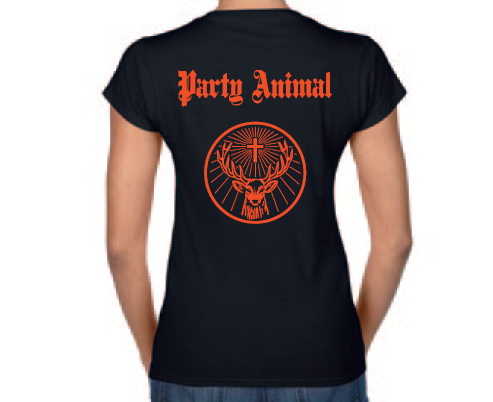 T-Shirt Party Animal Femme