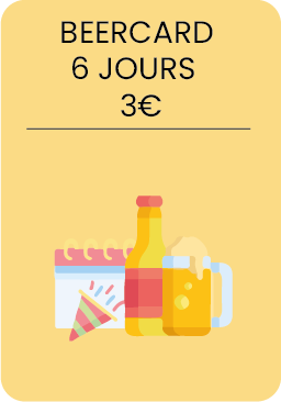 Beercard 6 jours