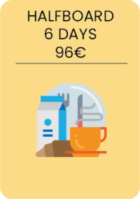 6 days of Yeti Breakfast + 6 days of Yeti Dinners.